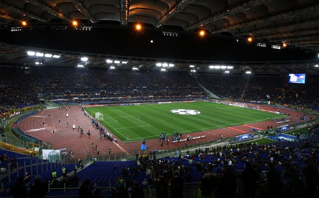 Fans will be allowed into the Stadio Olimpico in Rome for the Euro 2020 finals