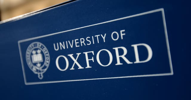 University of Oxford donation