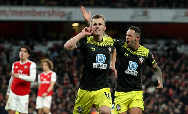 Arsenal struggled to a home draw with lowly Southampton on Saturday