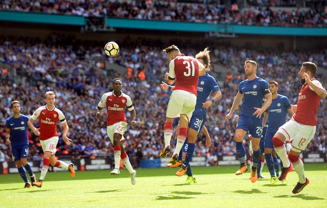 Sead Kolasinac marked his Arsenal debut with the equalising goal in the 2017 Community Shield.