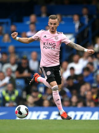James Maddison impressed for Leicester in the second half