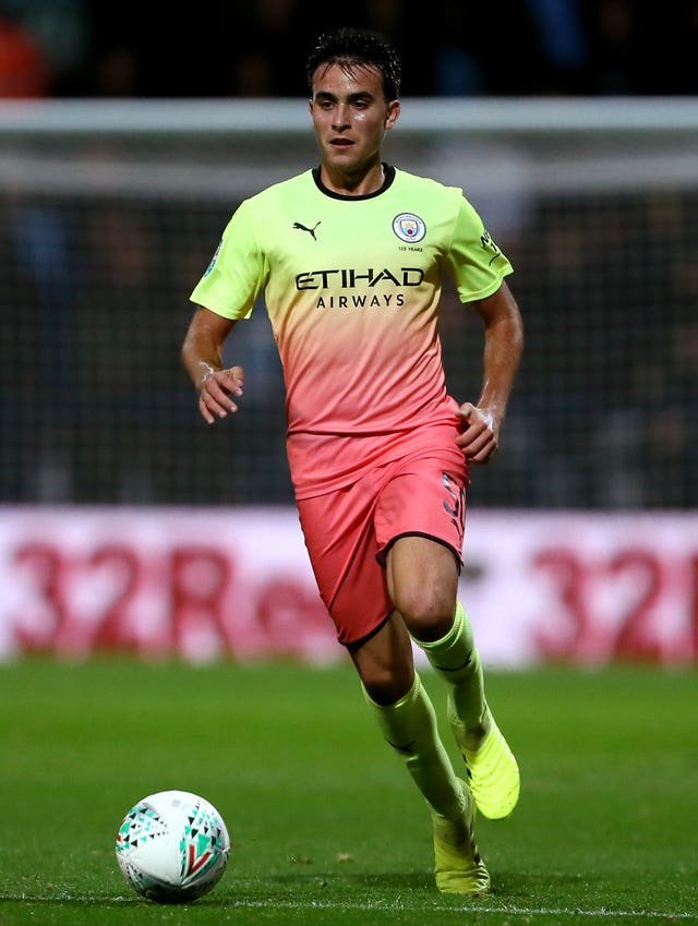 Eric Garcia has impressed during his displays for Manchester City's first team