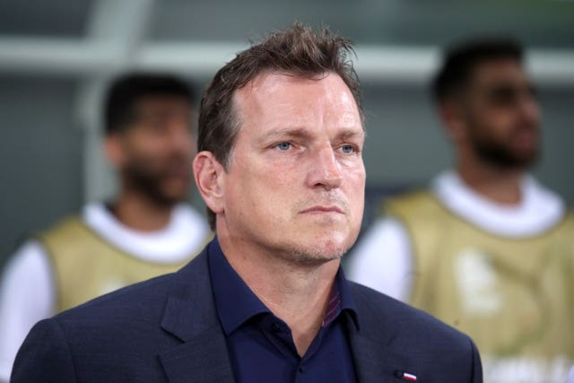 Andreas Herzog has left his role with Israel