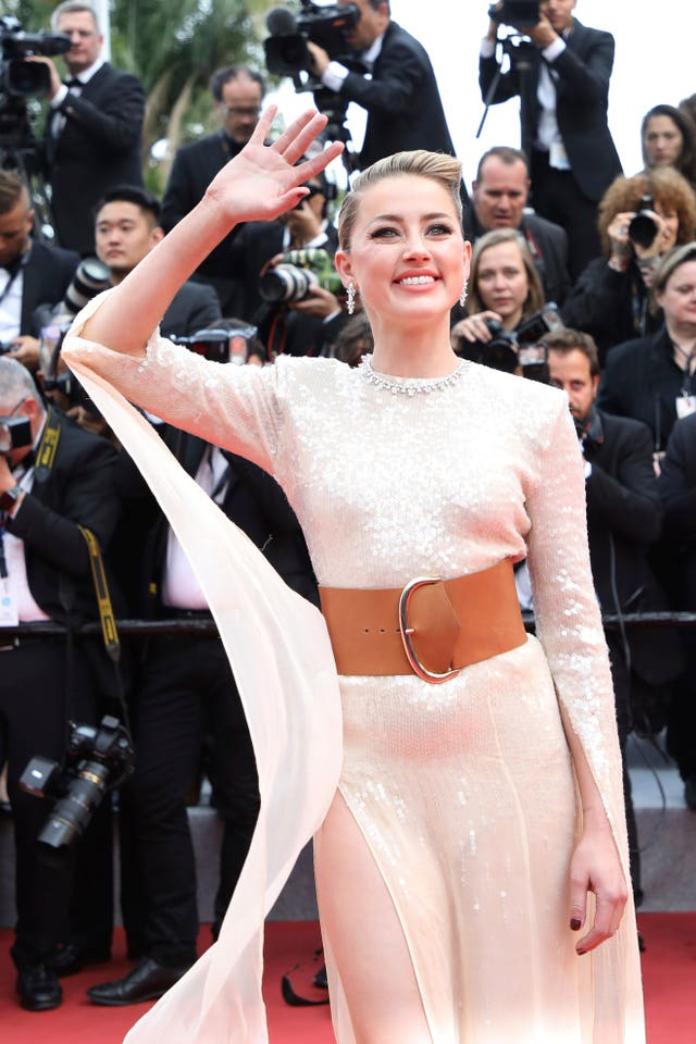 Amber Heard in Cannes