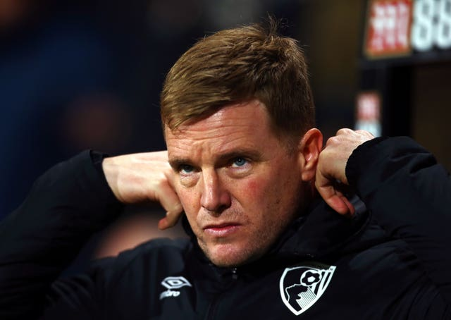 Eddie Howe rued a poor opening 30 minutes by Bournemouth