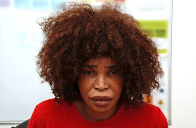 Berlinah Wallace poured sulphuric acid over her former partner Mark van Dongen's face (Avon and Somerset Police/PA)