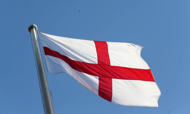 The flag of St George (PA)