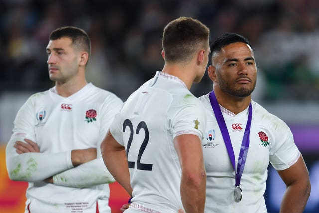 England fell to a heavy 32-12 defeat in the World Cup final