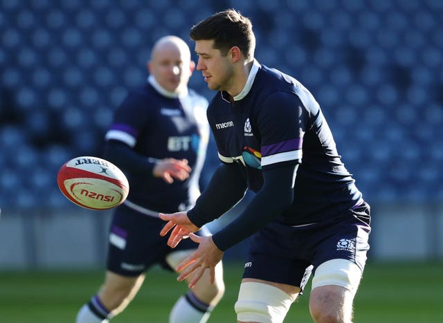 Grant Gilchrist has only started one of Scotland's Autumn Tests so far