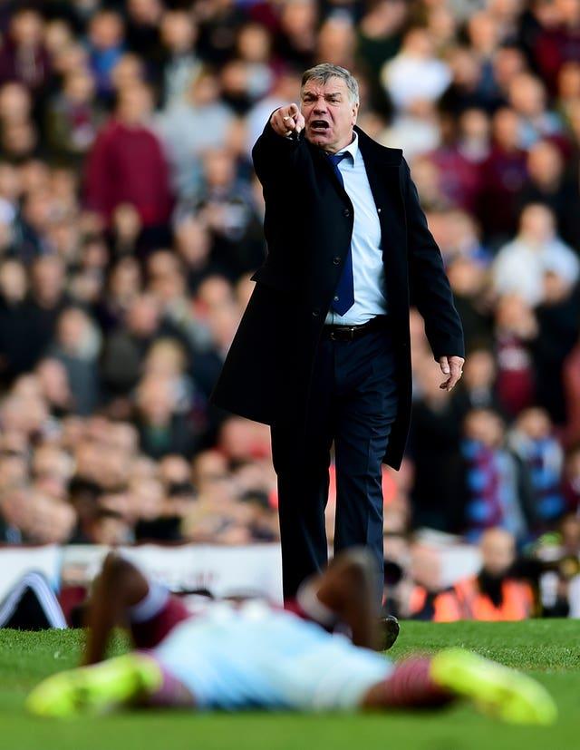 Allardyce struggled to win over the West Ham fans