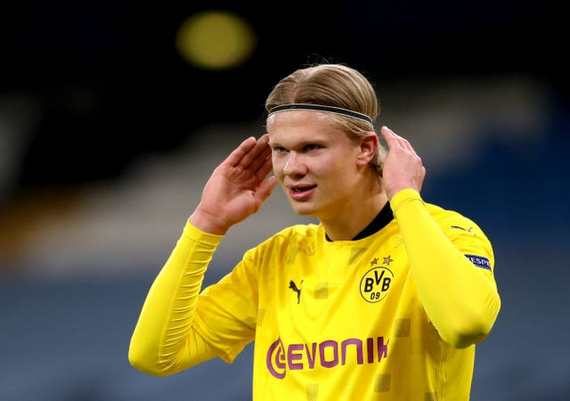 Erling Haaland is likely to be key to Dortmund's hopes