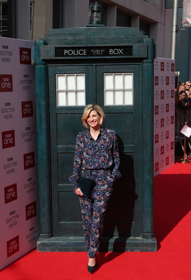 Jodie Whittaker in dr who short film