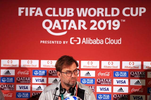 Liverpool manager Jurgen Klopp was speaking to the media ahead of his side's Club World Cup semi-final against Monterrey