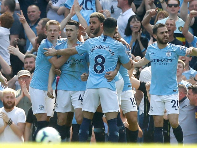 Manchester City have won their last 10 Premier League games