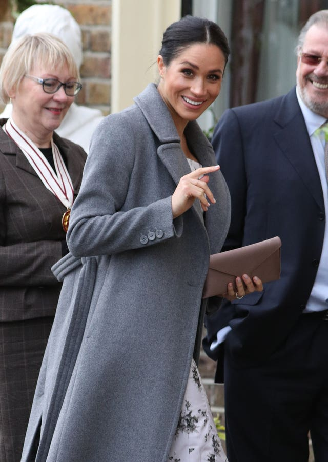 Meghan visits Royal Variety Charity care home