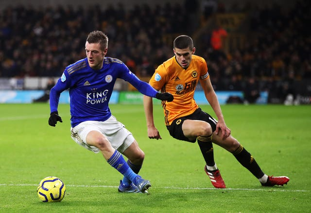 Jamie Vardy struggled to make an impact
