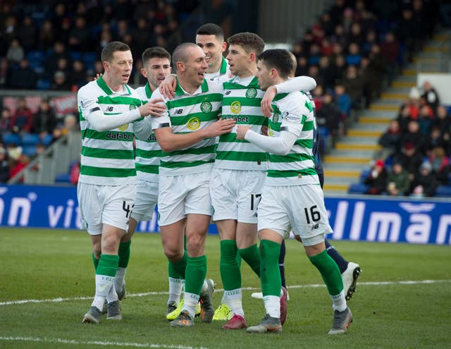 Ryan Christie and Scott Brown are among the Celtic players calling for a united front