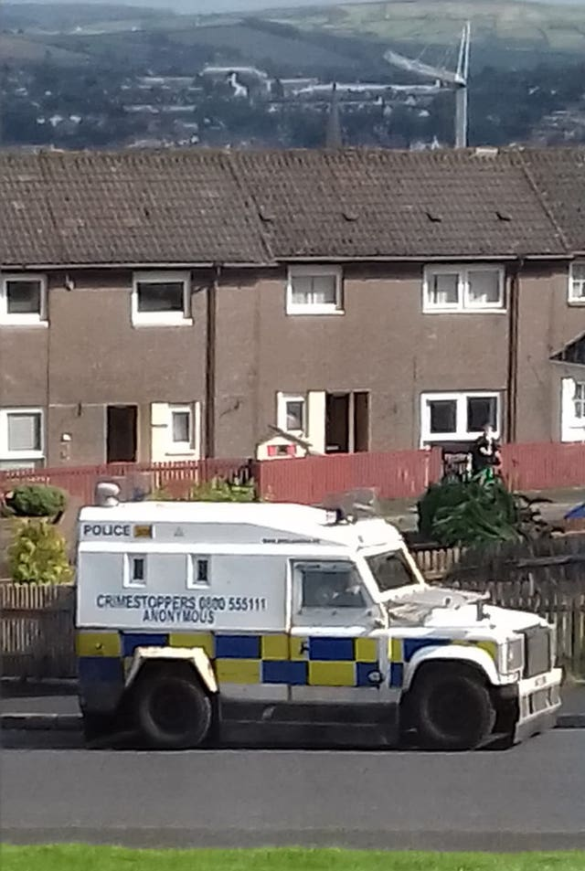 Suspicious device found in Creggan