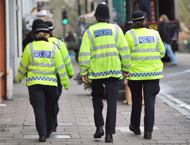The sting operation was organised by Newham Council and the Met Police (Anthony Devlin/PA)