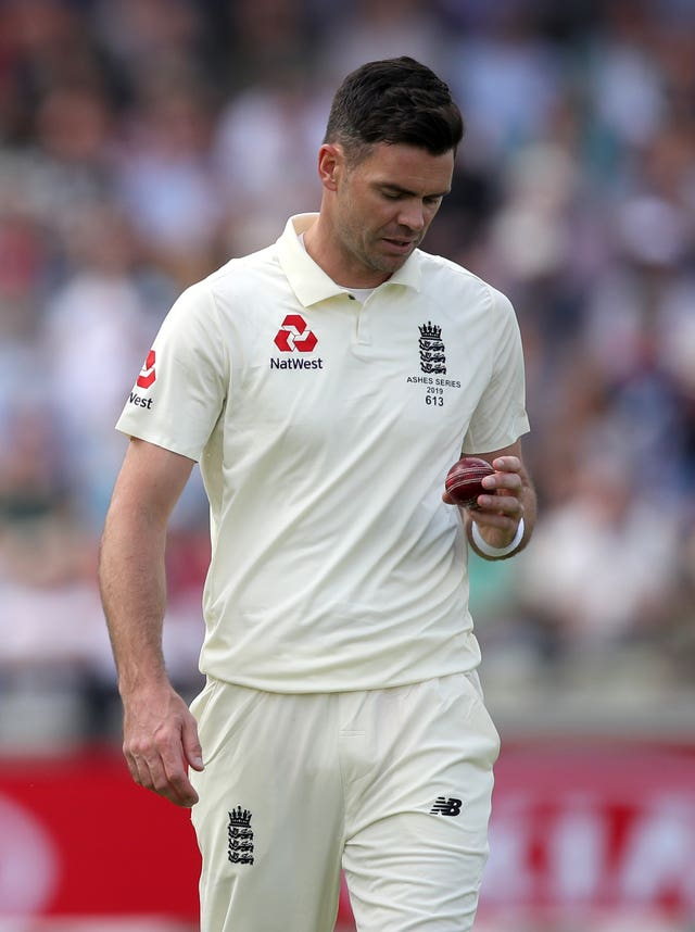 James Anderson still plans on leading the England attack again.
