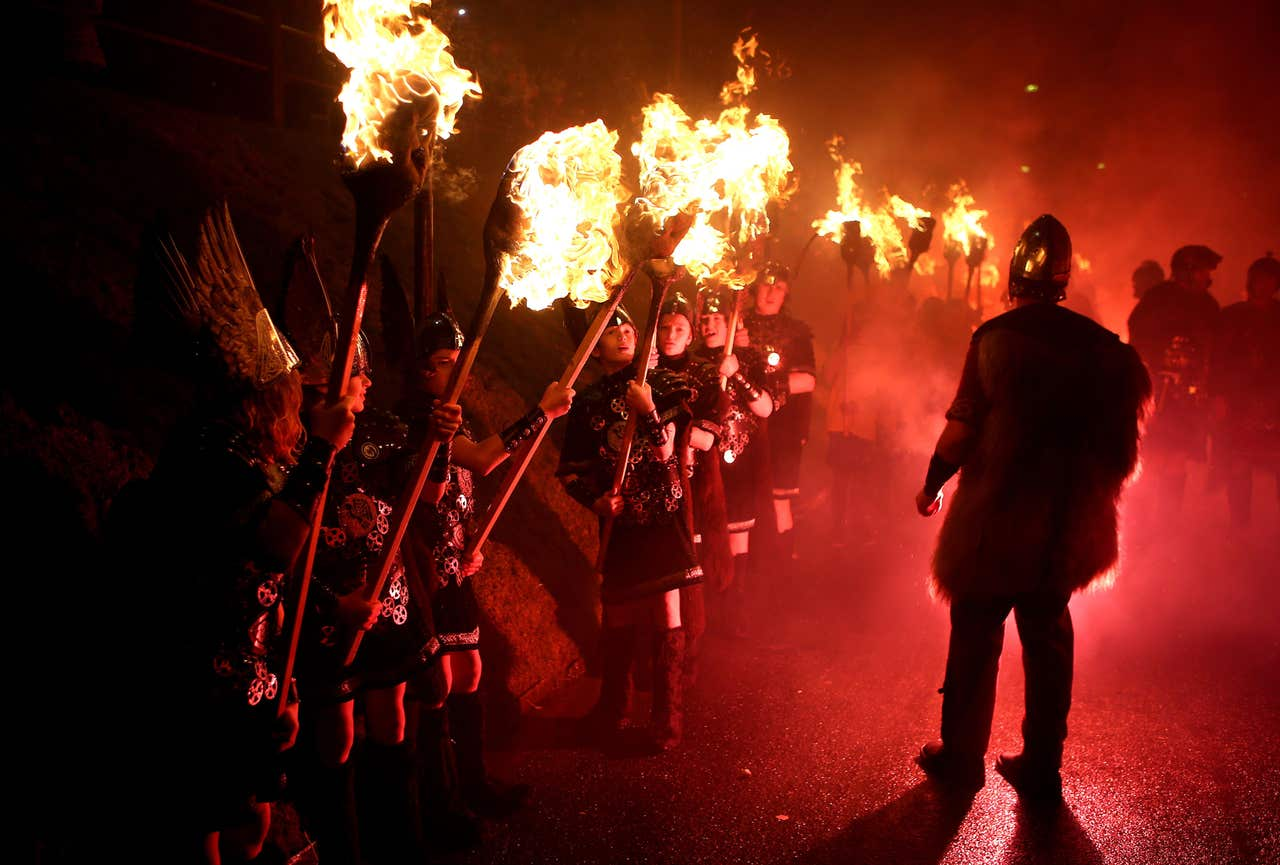 bressay up helly aa 2012 The lerwick up helly aa is one of a variety of fire festivals held in shetland annually in the middle of winter, it is always started on the last tuesday of january [130] the festival is just over 100 years old in its present, highly organised form.