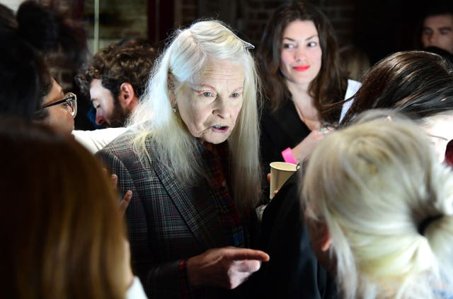 Vivienne Westwood Backstage – London Fashion Week February 2019