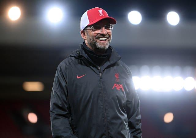 Liverpool manager Jurgen Klopp said he also gets nervous