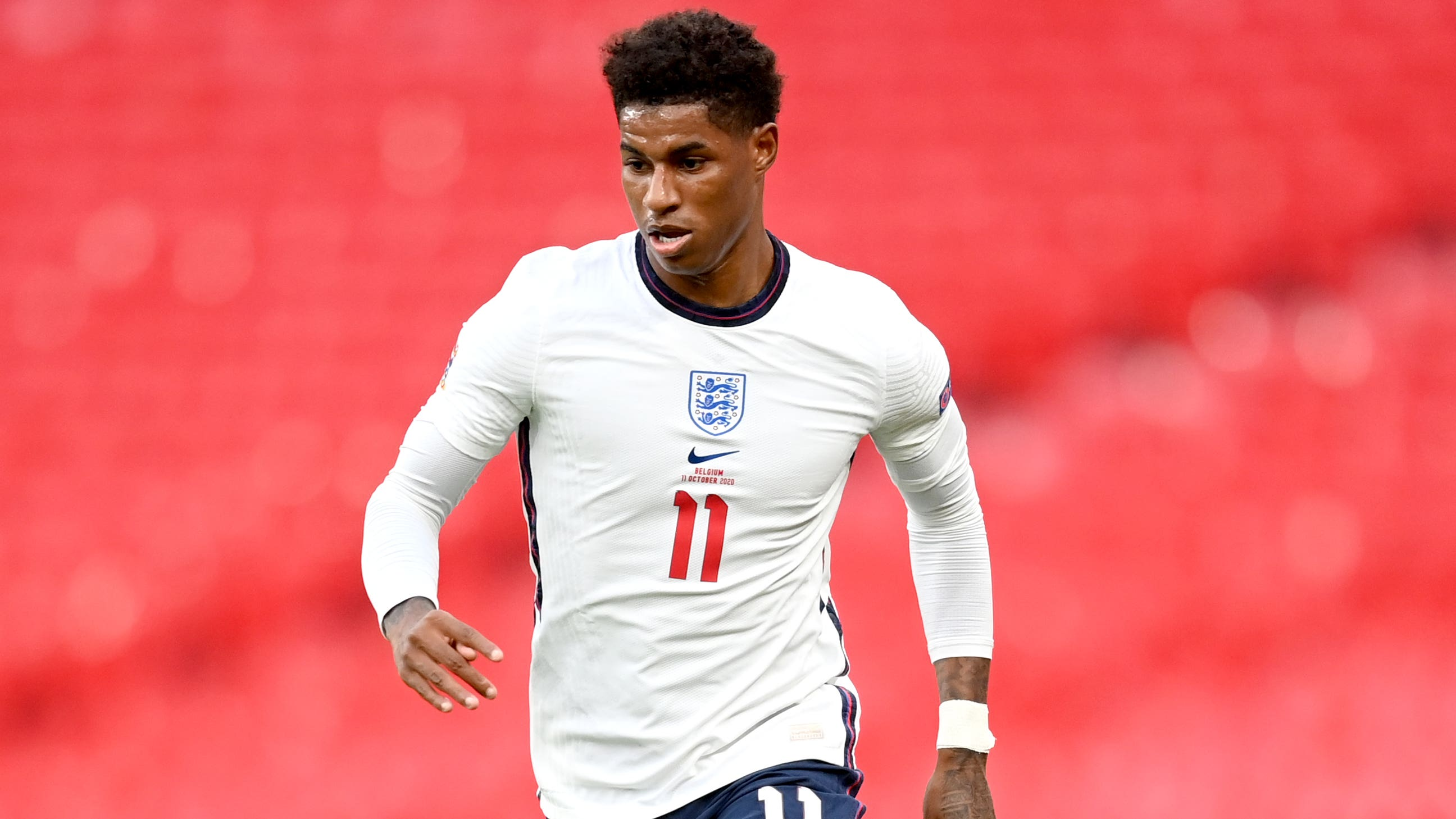 Marcus Rashford Says Beating Belgium Proves England Can Match The Top Sides Bt Sport
