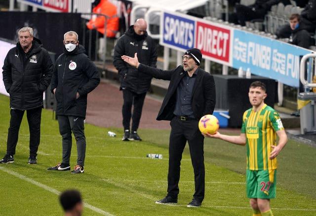 West Brom manager Slaven Bilic is under pressure