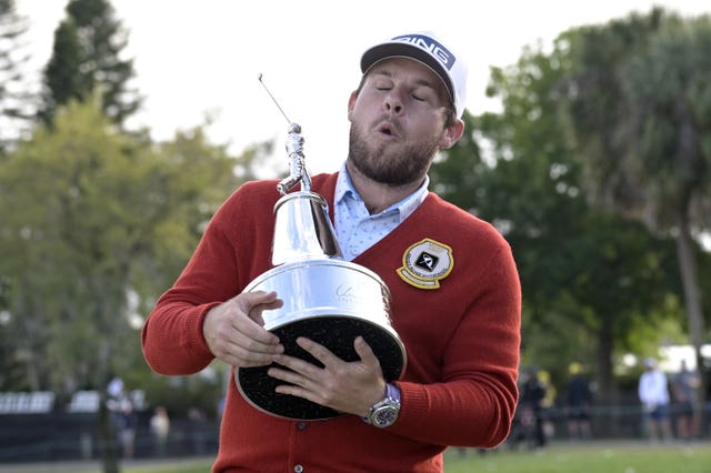England's Tyrrell Hatton claimed his first PGA Tour victory at the Arnold Palmer Invitational at Bay Hill