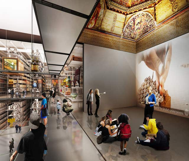 Plans for a V&A collection and research centre