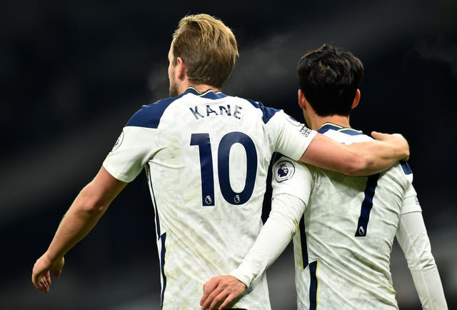 Kane and Son hit the goals as Spurs beat Arsenal 2-0 earlier this season.