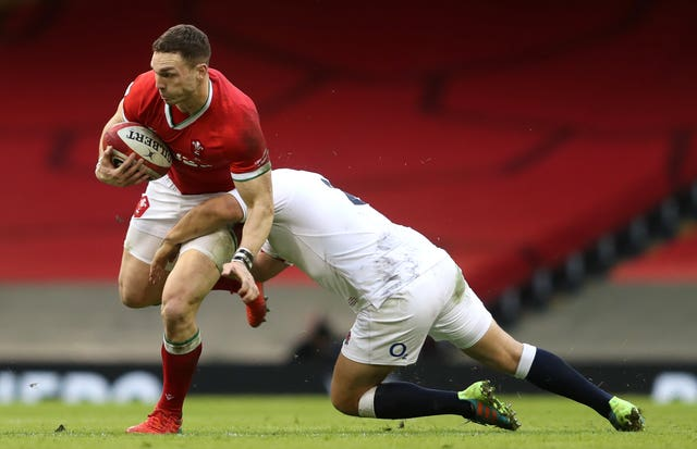 George North won his 100th cap for Wales