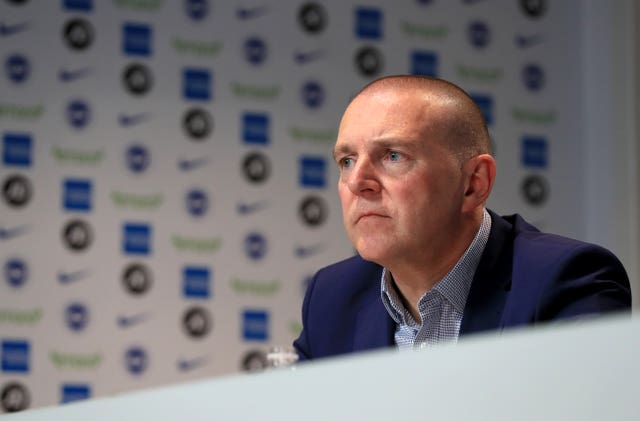 Brighton CEO Paul Barber says the club are yet to consider pay cuts for staff
