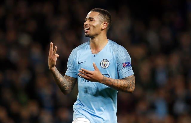 Gabriel Jesus scored a hat-trick when City thrashed Shakhtar 6-0 last season