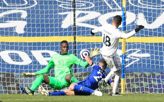 Edouard Mendy made a couple of important saves