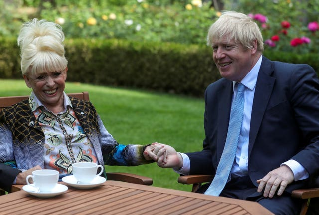 Barbara Windsor open letter to PM