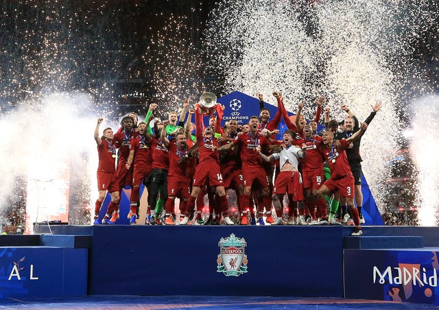 Liverpool came out on top against Tottenham in the Champions League final