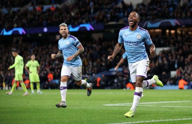 Raheem Sterling (right) made an immediate impact against Dinamo