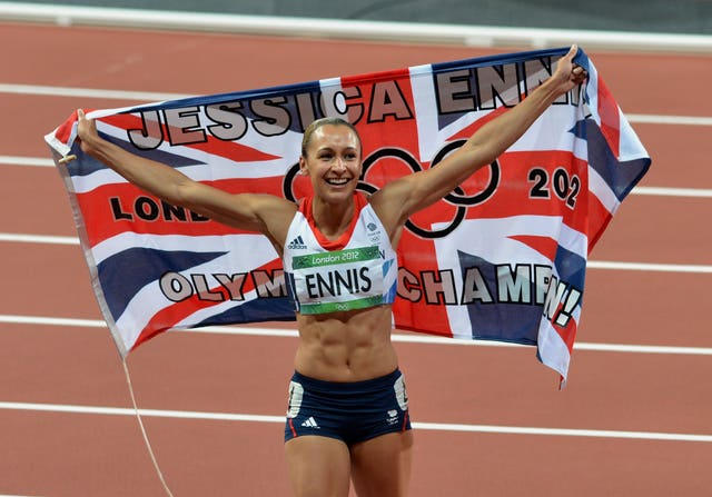 Ennis-Hill was the poster girl of the 2012 London Olympics