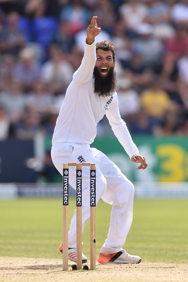Moeen Ali made his Ashes debut in the first Test at Cardiff in the 2015 series (Joe Giddens/PA).