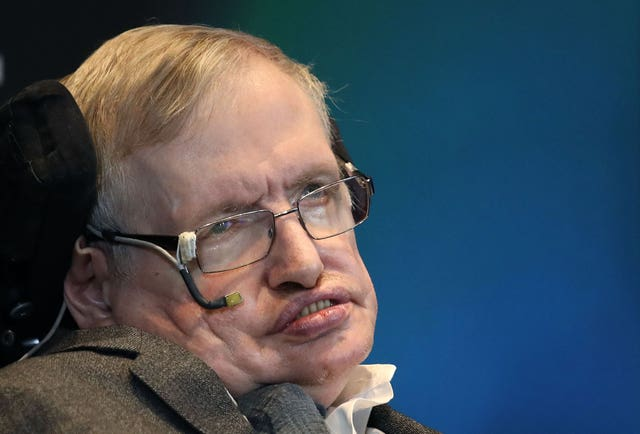 Stephen Hawking commemorative coin