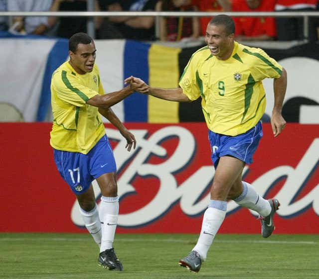 Ronaldo won the Golden Boot as Brazil lifted the 2002 World Cup
