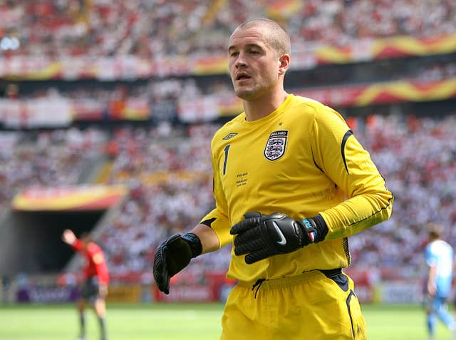 Paul Robinson played for England at the 2006 World Cup