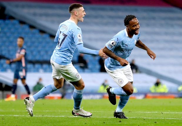 Raheem Sterling scored the only goal of the game