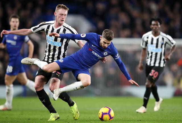 Chelsea manager Mauricio Sarri says he needs a back-up for Jorginho (Adam Davy/PA).