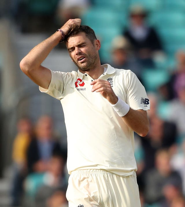 James Anderson missed the one-off Test against Ireland