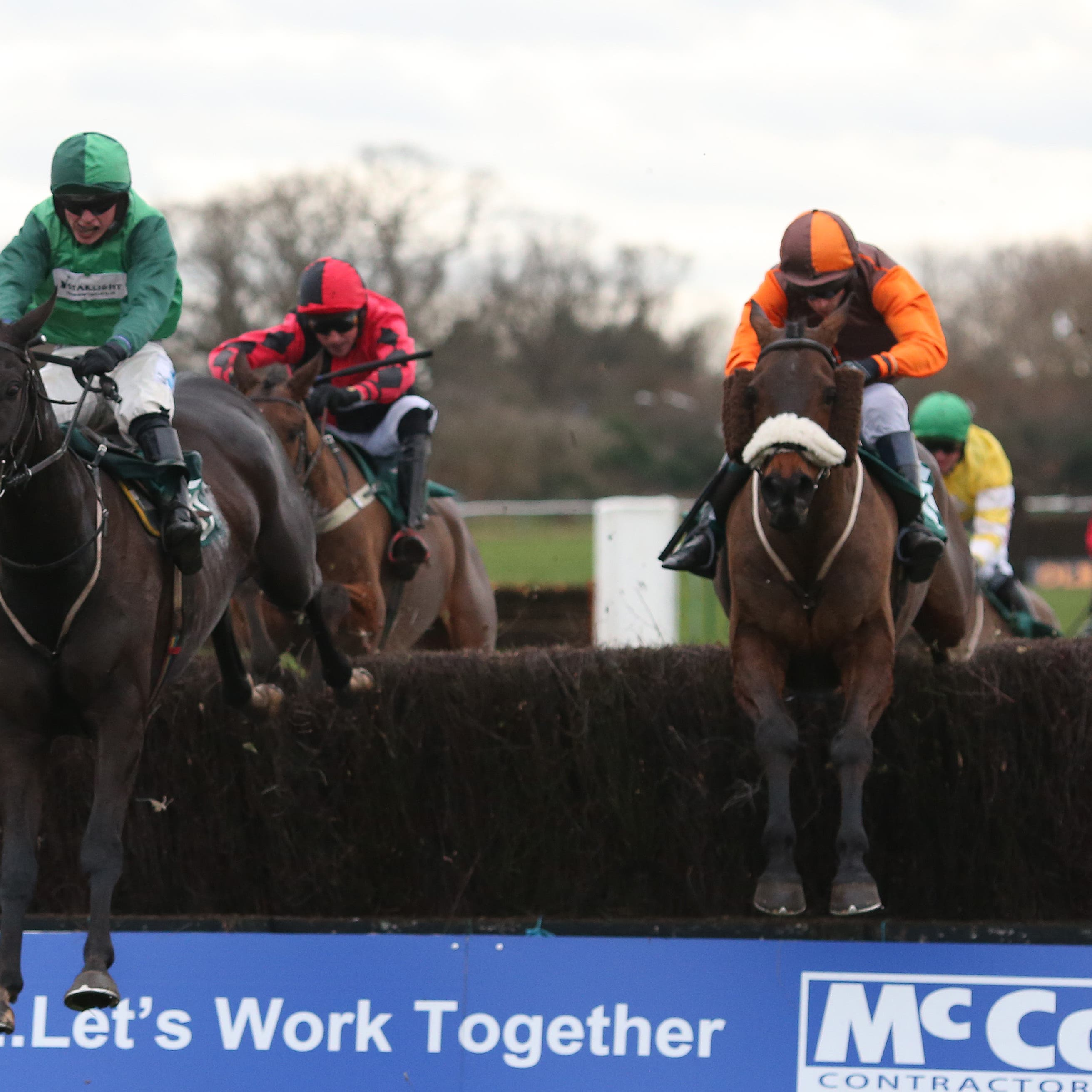 Impulsive Star, ridden by Sam Waley-Cohen (right), who could run in the William Hill Grand National Trial at Haydock on Saturday (