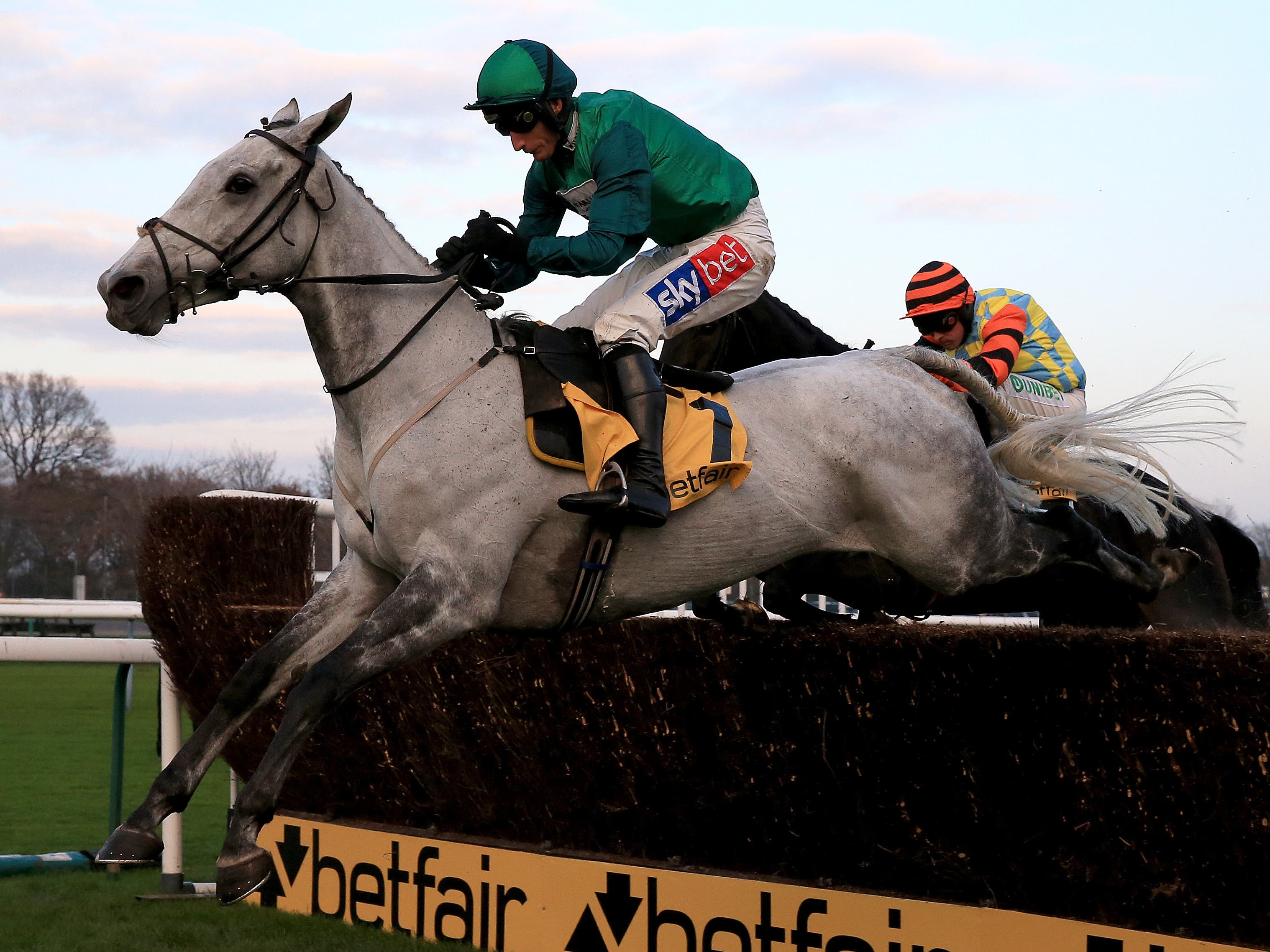 Bristol De Mai on his way to winning last year's Betfair Chase (Clint Hughes/PA)