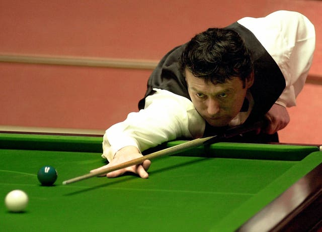 Jimmy White became the second player to record a 147 at the Crucible (John Giles/PA)